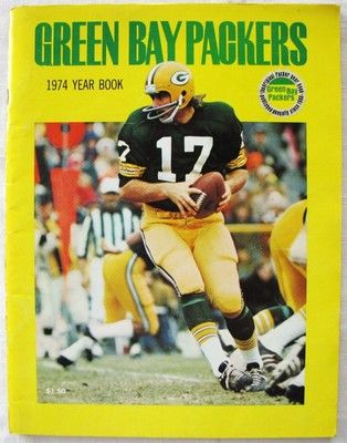 1974 Football Year Book Green Bay Packers Jerry Tagge Original NFL Team Magazine