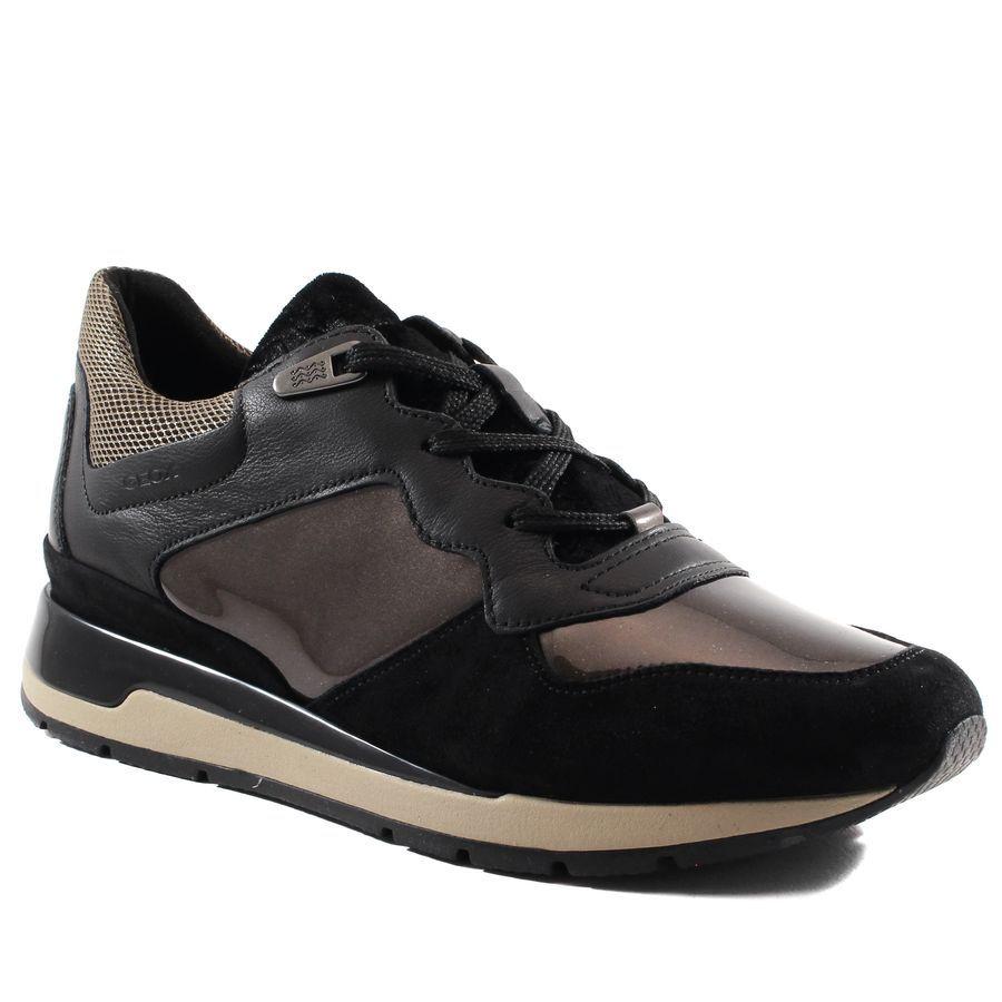 Geox Basket  D Shahira Marron - Livraison Gratuite avec  - Chaussures Baskets basses Femme
