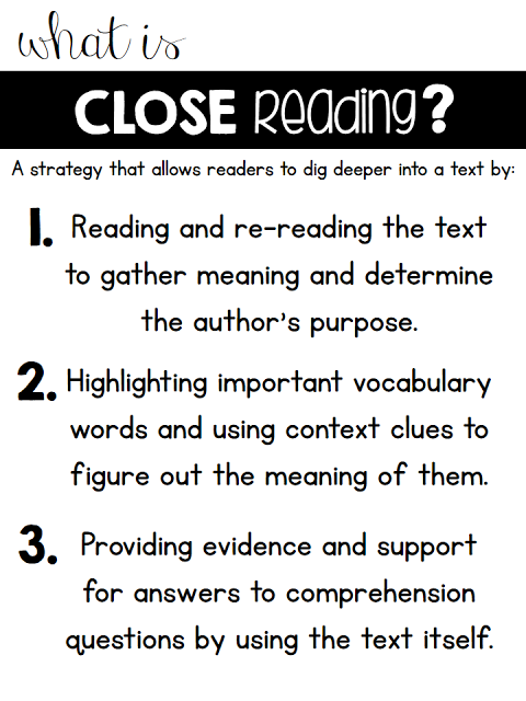 Close Reading in 1st Grade & A...