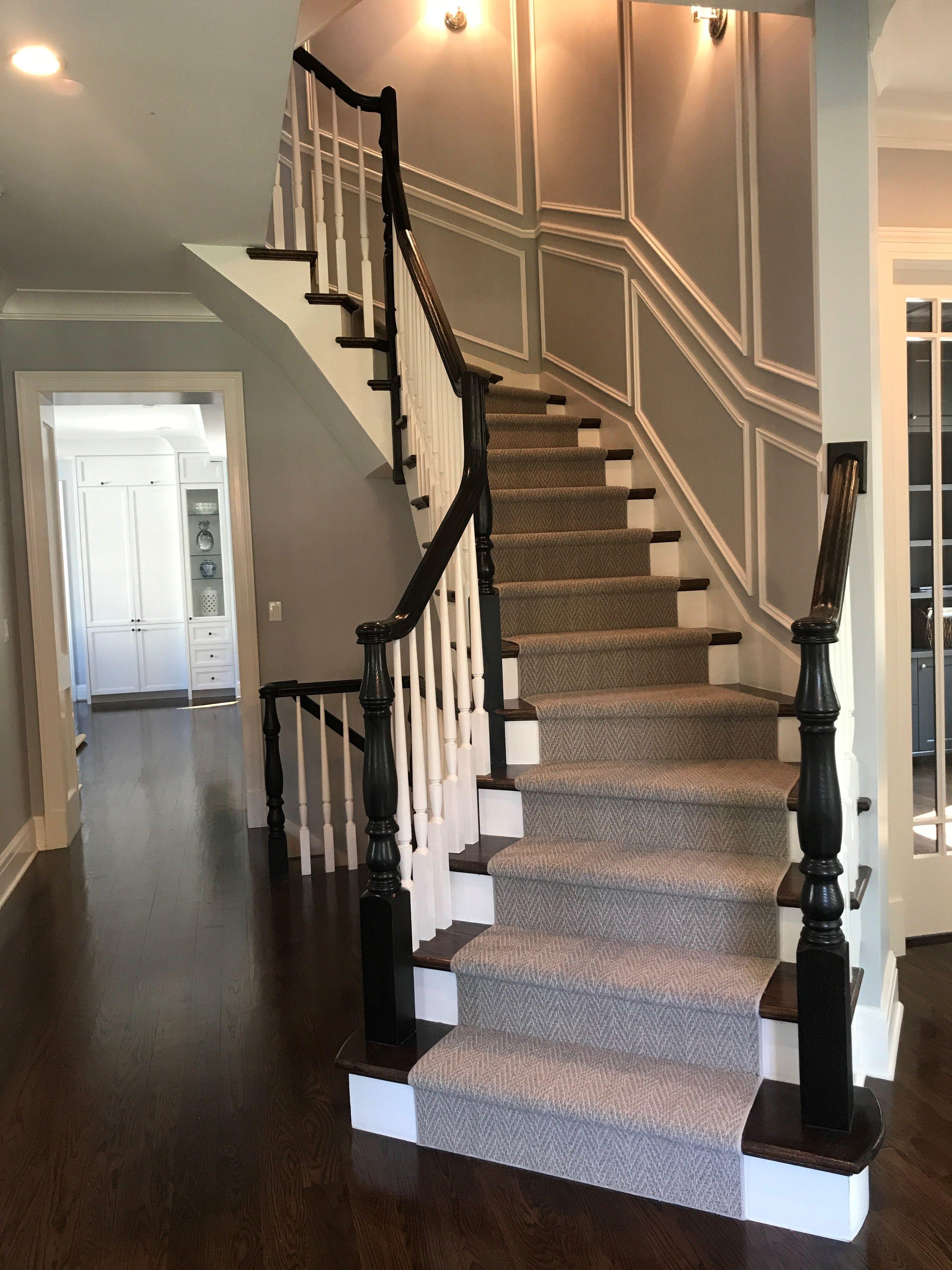 Stair Carpet Wood Wainscoting Wainscoting Stairs Florida Home
