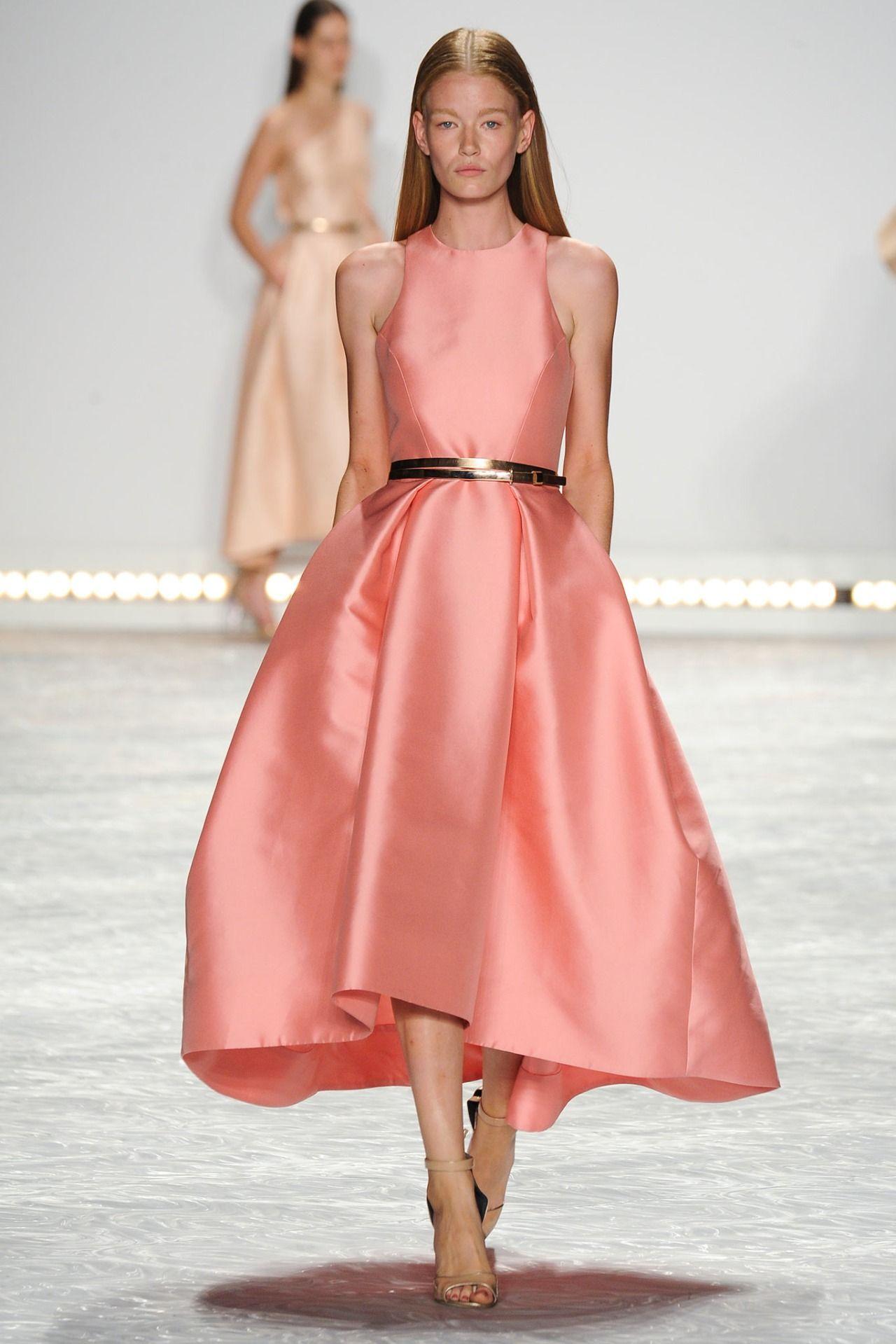 Monique Lhuillier Primavera/Verano 2015 Semana de la Moda de Nueva ...