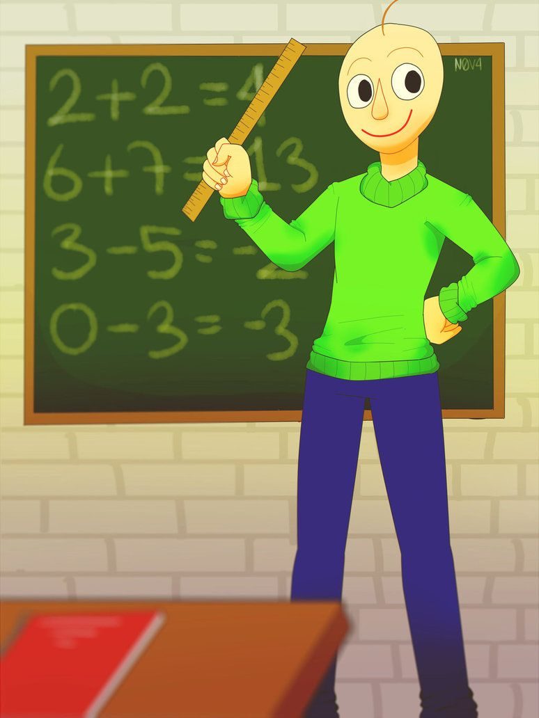 Baldi S Basics In Education And Learning Sp Paint By Nova409