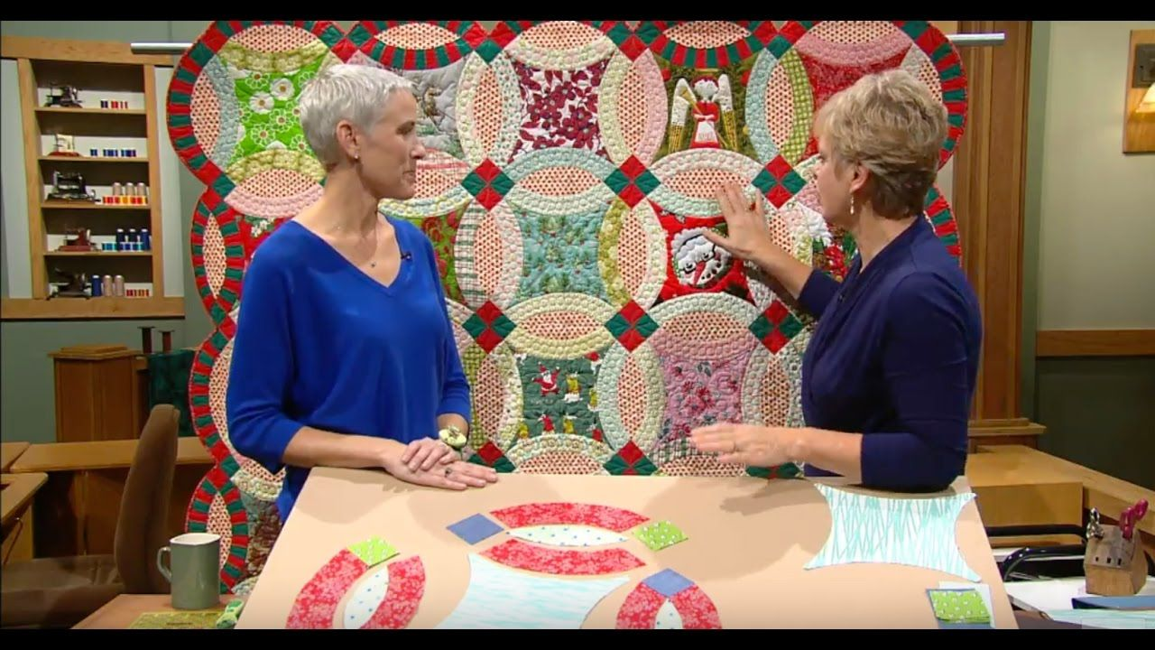 Sewing With Nancy Double Wedding Ring Quilts, Part 2