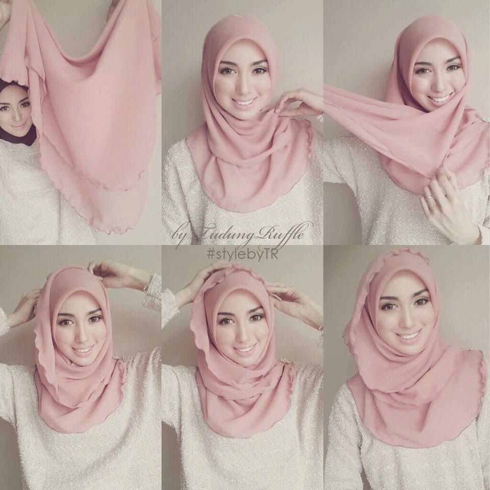 Comment faire le Hijab   30 Méthodes chic et Facile en Photos   i ... 79b2aad22c5