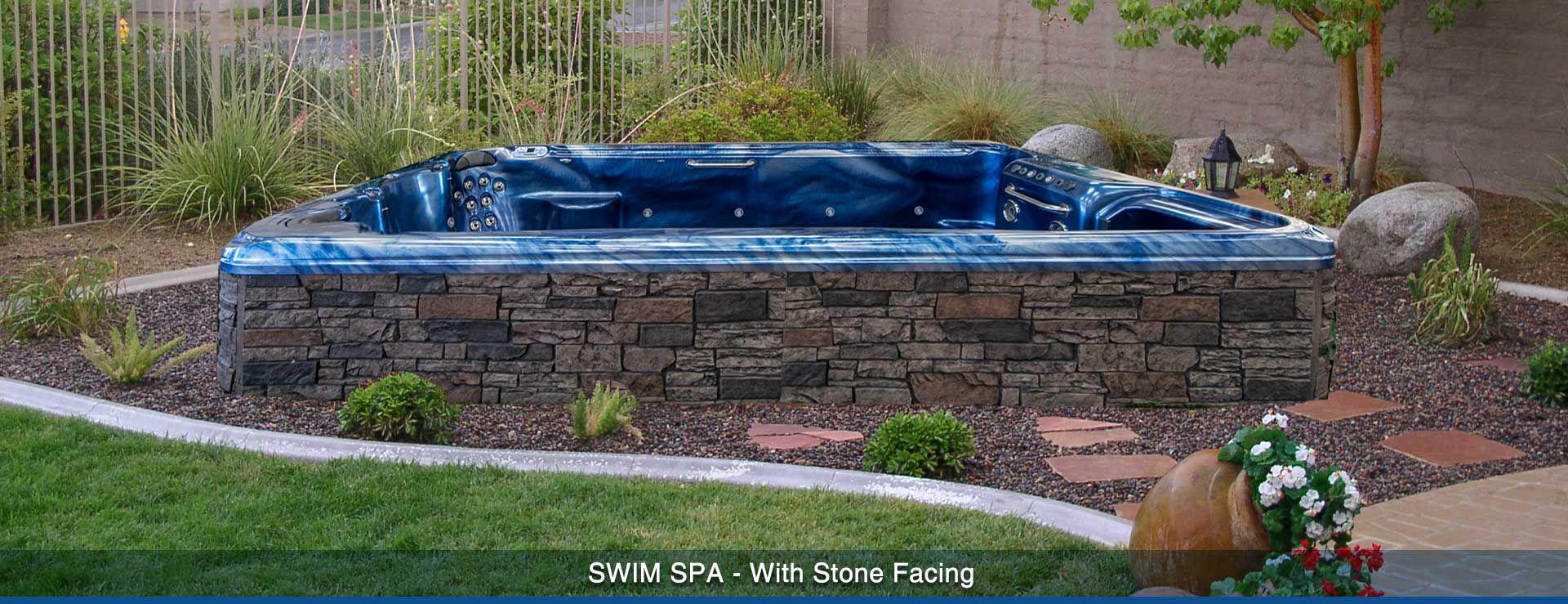 Image Result For Above Ground Swim Spa Designs Swim Spa