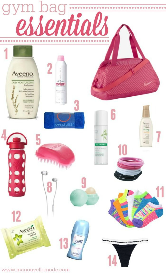 e78670922f1933 Don t get caught at the gym without your necessities! Check out this gym  bag essentials list to make sure you re ready to go!  Aveeno  ad   gymbagessentials