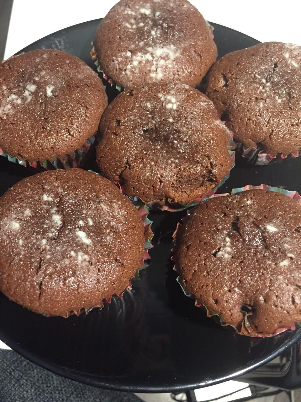 шоколадные кексы пп рецепт с фото пошагово дух