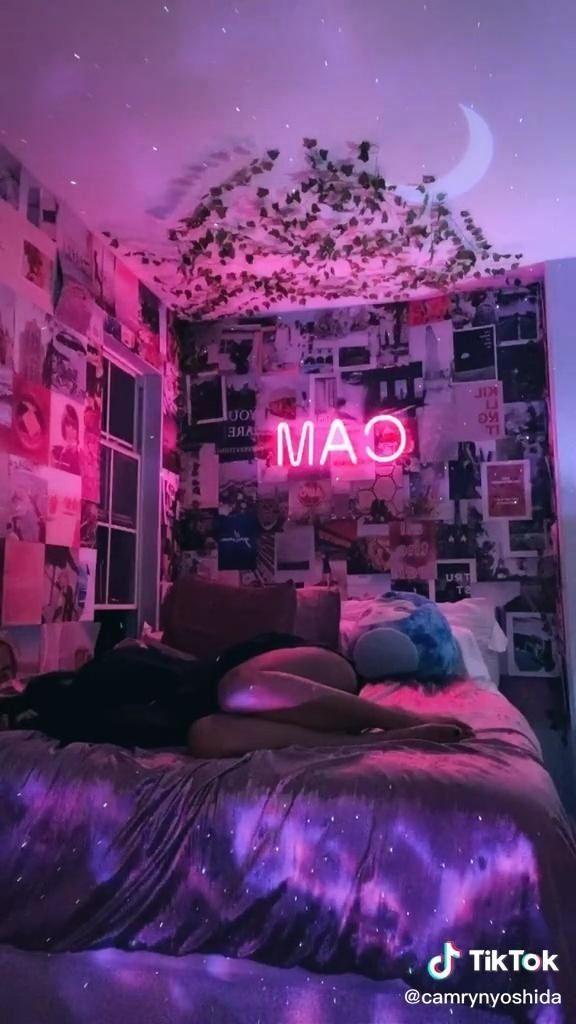 Lily S Room Inspo 1000 Room Inspiration Bedroom Room Ideas Bedroom Neon Bedroom