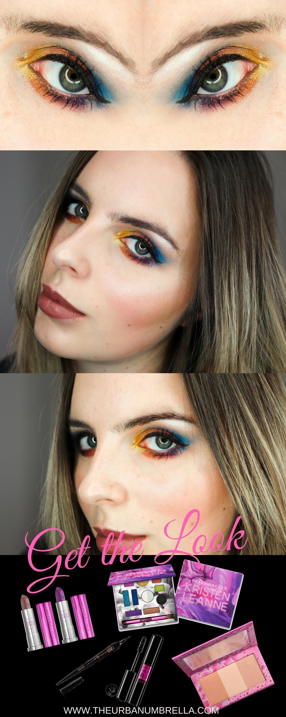 RAINBOW EYE Makeup Tutorial // makeuptutorial youtube