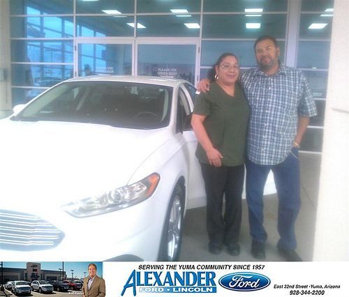 Thank You To Maria Sandoval On Your New 2014 Ford Fusion From