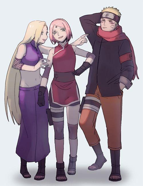 Ino Sakura and Naruto The Last | Coisas para comprar ...  Ino Sakura and ...