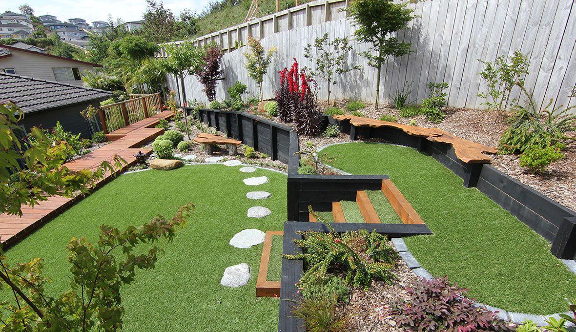 Image result for subtropical garden nz   Small garden ...