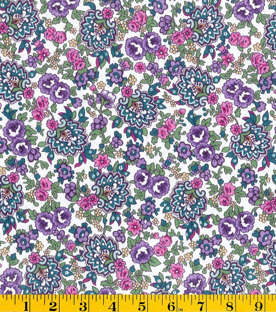 Stonehill Collection Cotton Fabric - Paisley Medallion