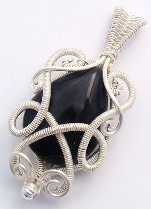 Wire wrapped pendant tutorial by gay must make fave pinterest wire wrapped pendant tutorial by gay aloadofball Gallery