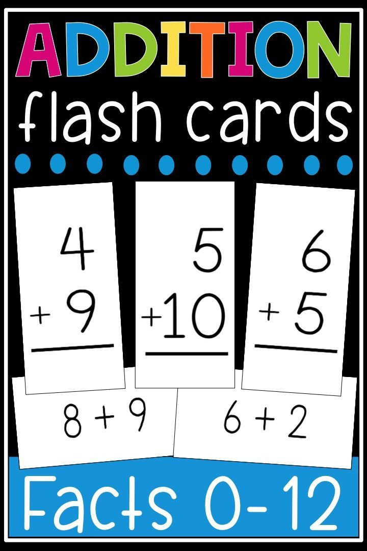 addition flash cards math facts 0 12 flashcards printable first grade math addition. Black Bedroom Furniture Sets. Home Design Ideas