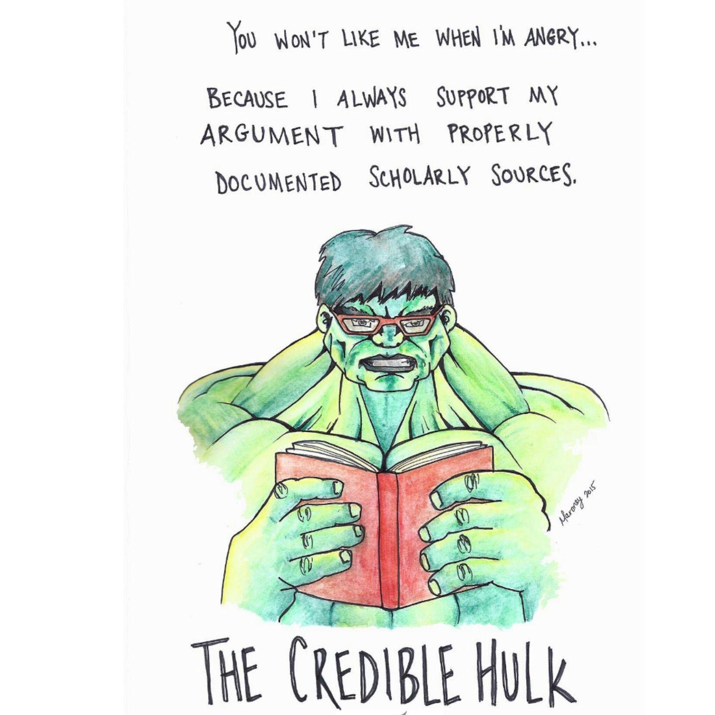 The Credible Hulk