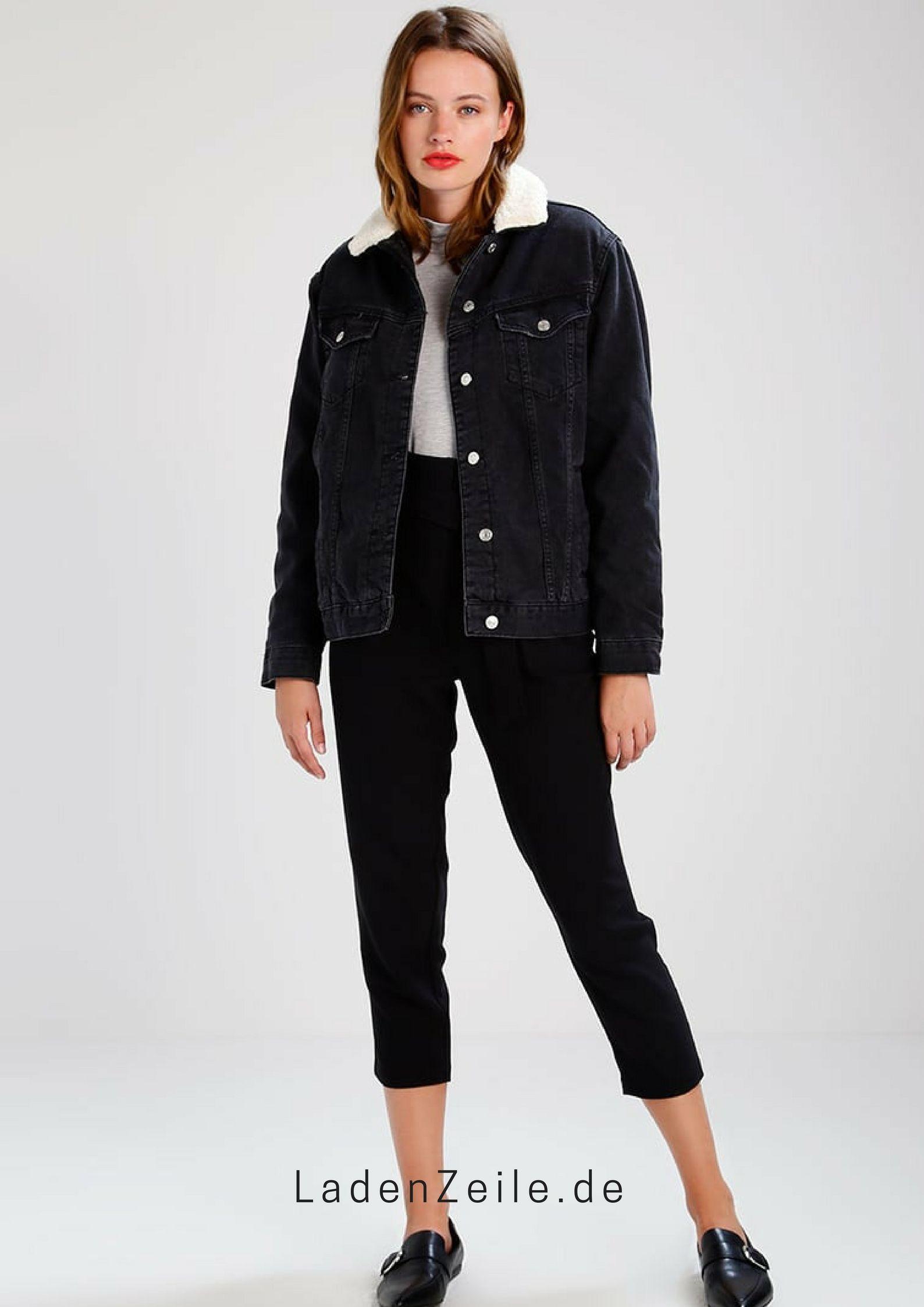 wholesale dealer 1b653 b0688 Topshop SEAM Jeansjacke black Bekleidung   ℒ Neuheiten ...