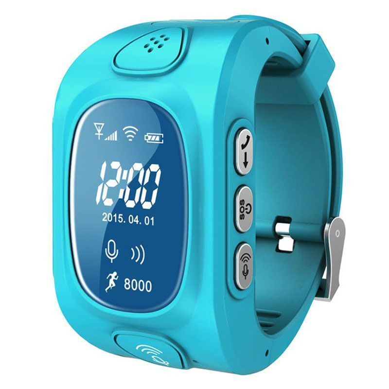 Men's Watches Child Cute Smartwatch Safe-keeper Sos Call Anti-lost Monitor Real Time Tracker For Children Base Station Location App Control Buy One Give One Watches