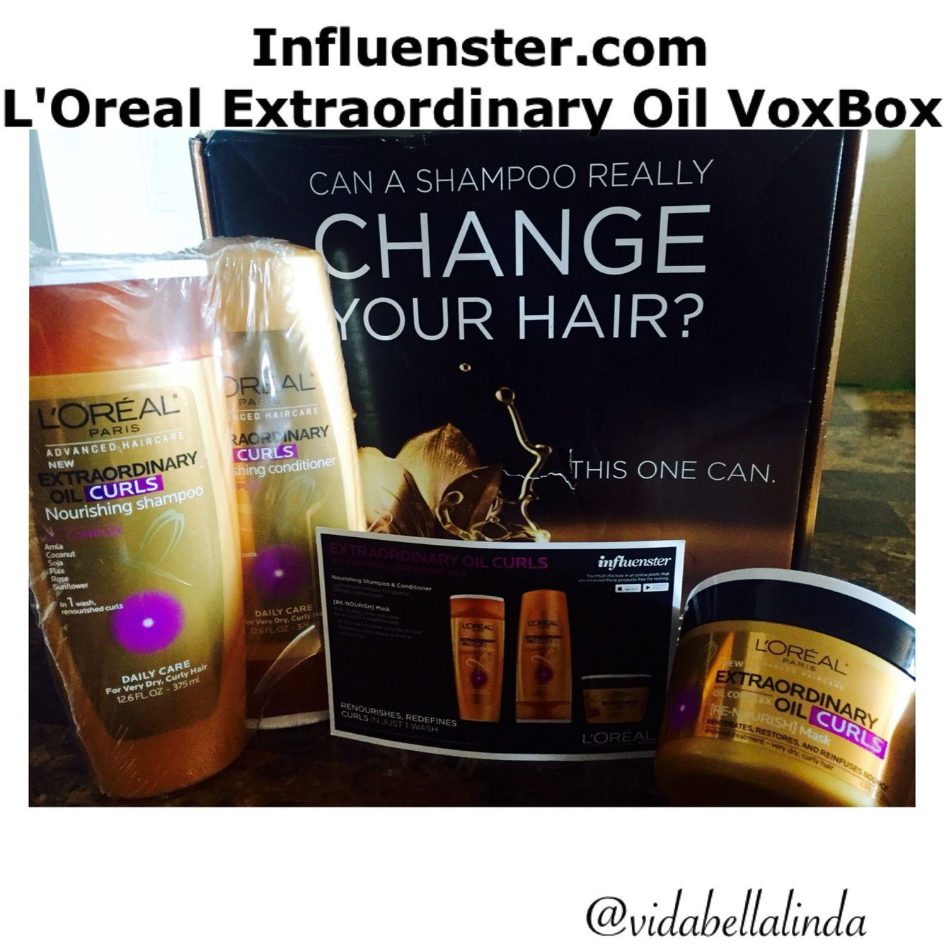 #ExtraordinaryHair and #Spon4Loreal!  (Received free for testing purposes only all opinions are my own)