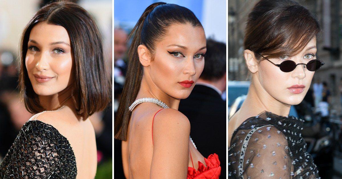 Bella Hadid S Beauty Evolution Bella Hadid Was Practically