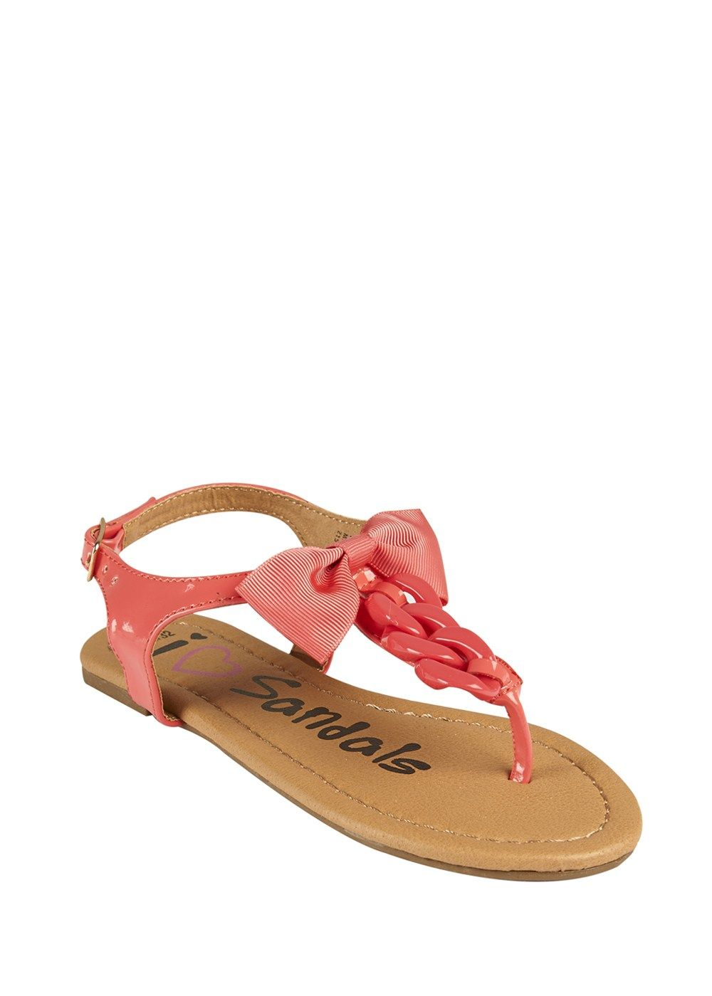 5c5030ae6 Girls Chain Front Toepost Sandals (Younger Kids 10 - Older Kids 5) - Matalan