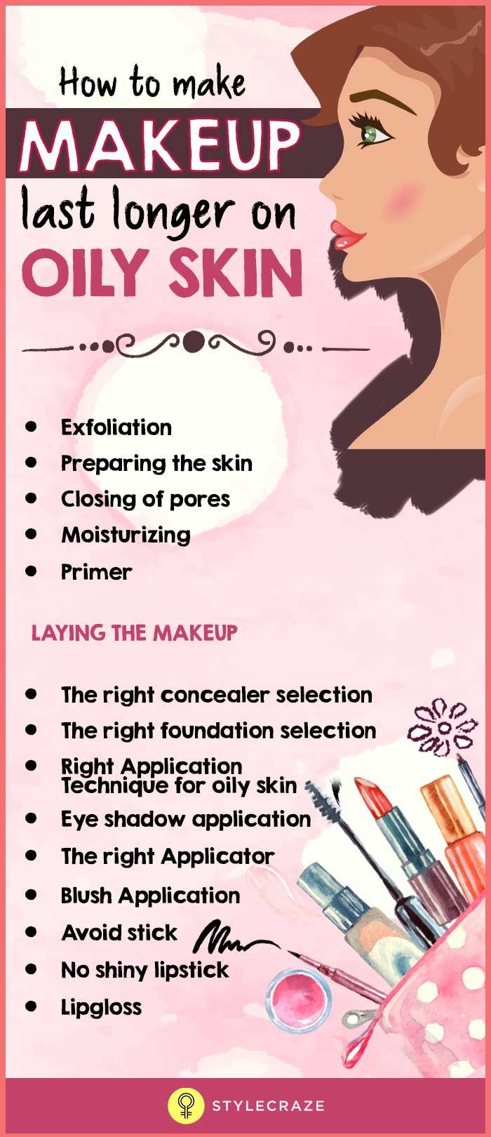 How to make Makeup last longer on Oily skin?  Treating oily skin