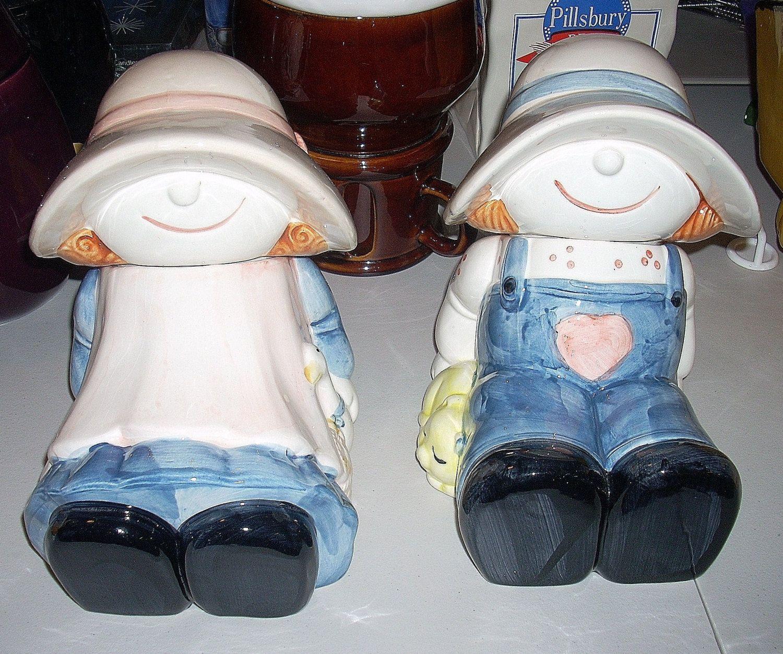 Ragdoll Couple Vintage Cookie Jars. $65.00, via Etsy.