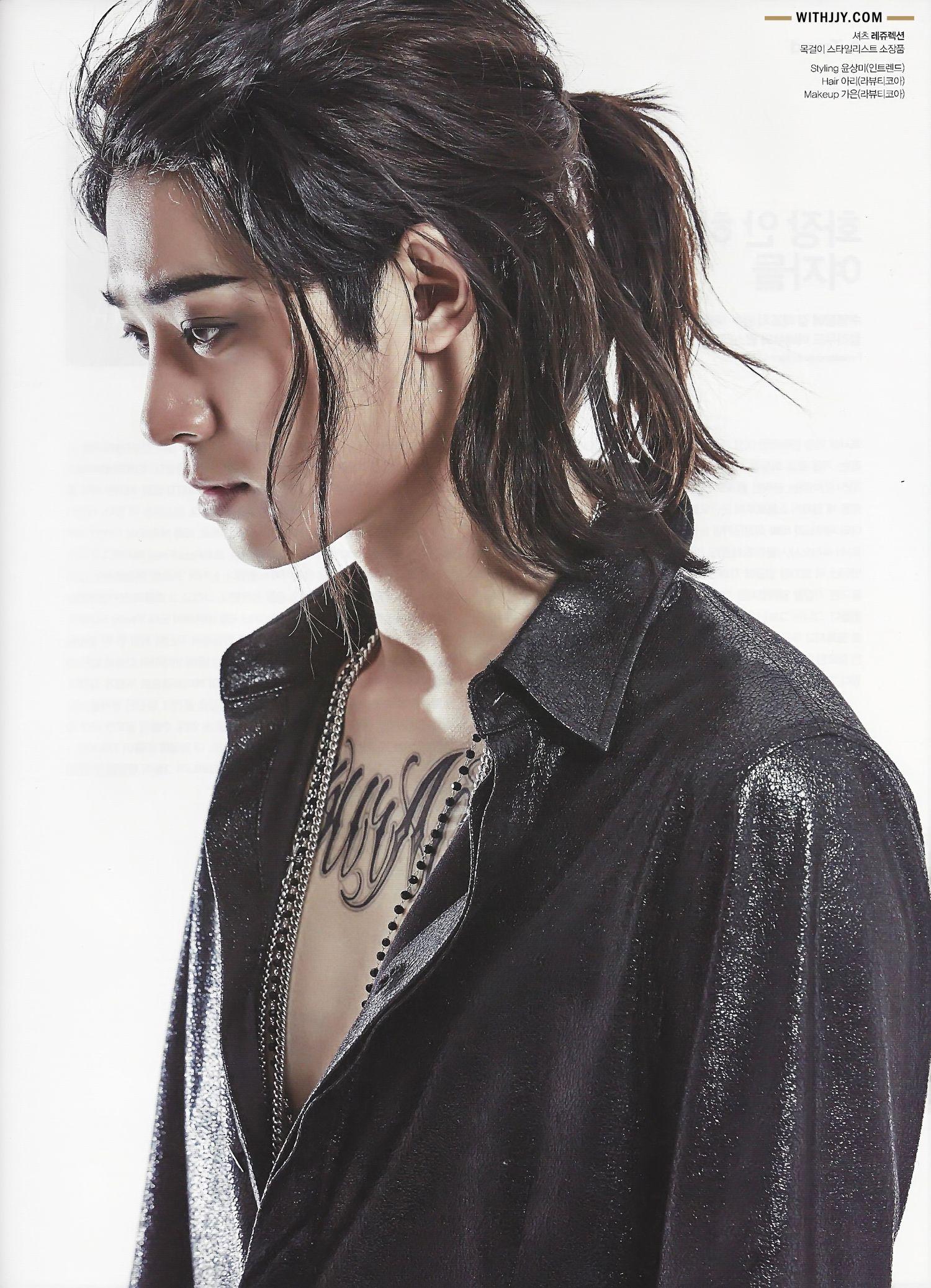 The Celebrity Febrero 2016 Asian Men Long Hair Asian Hair Korean Hairstyle