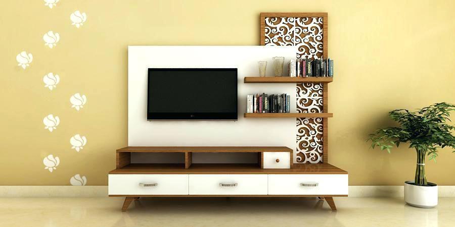 Idea Dekorasi Rak Tv Yang Cantik Dan