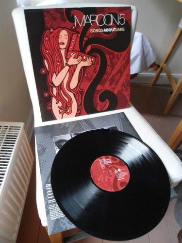 Maroon 5 Songs About Jane Vinyl 2xlp Black Peach And Maroon Swirl Songs About Jane Vinyl Music Vinyl Record Art