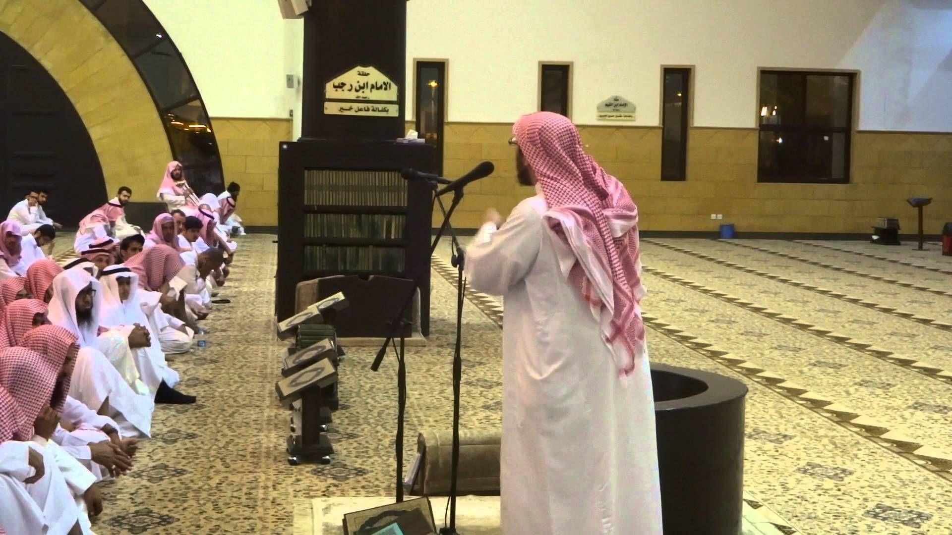 كلمة عن الوضوء بعد صلاة العشاء يوم الأربعاء 21 06 1437هـ في جامع الدخيل