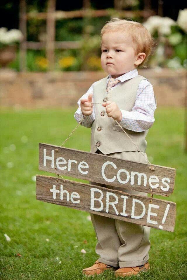 cute for the wedding march Wedding IDEAS Pinterest Wedding