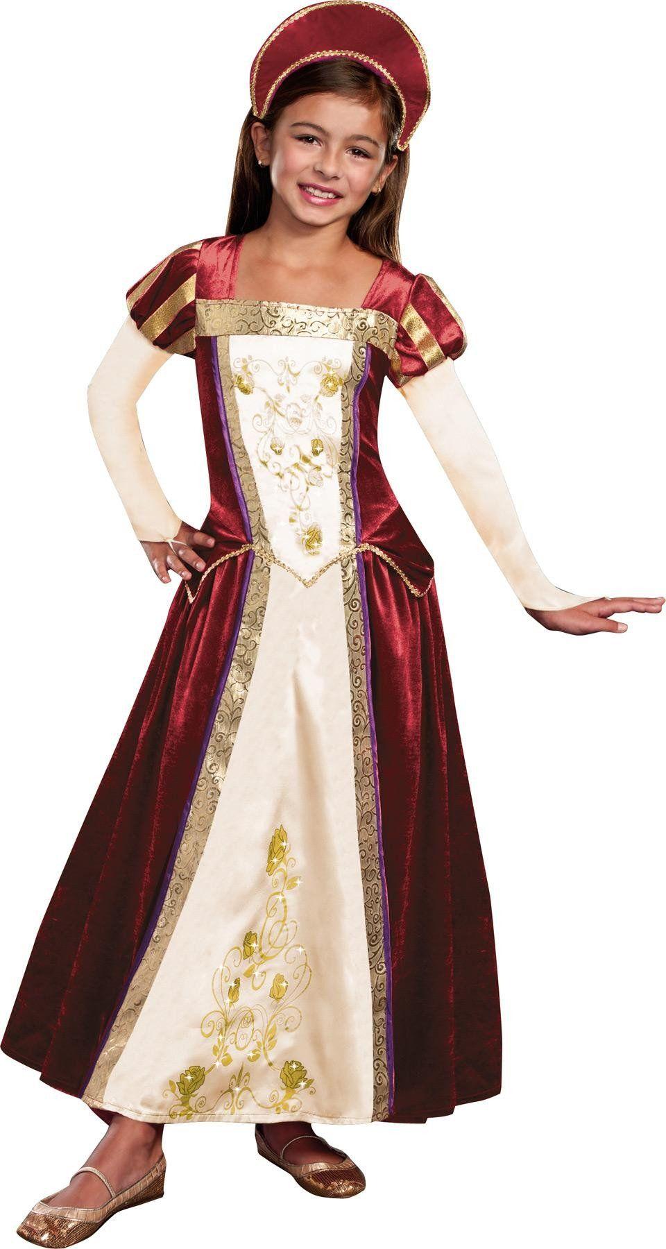 Royal Maiden Child Medium Halloween kostüme für mädchen
