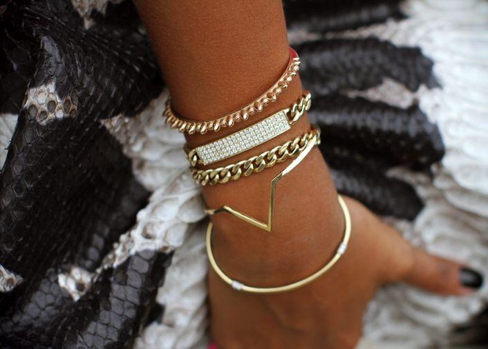 Gold bracelets ♥
