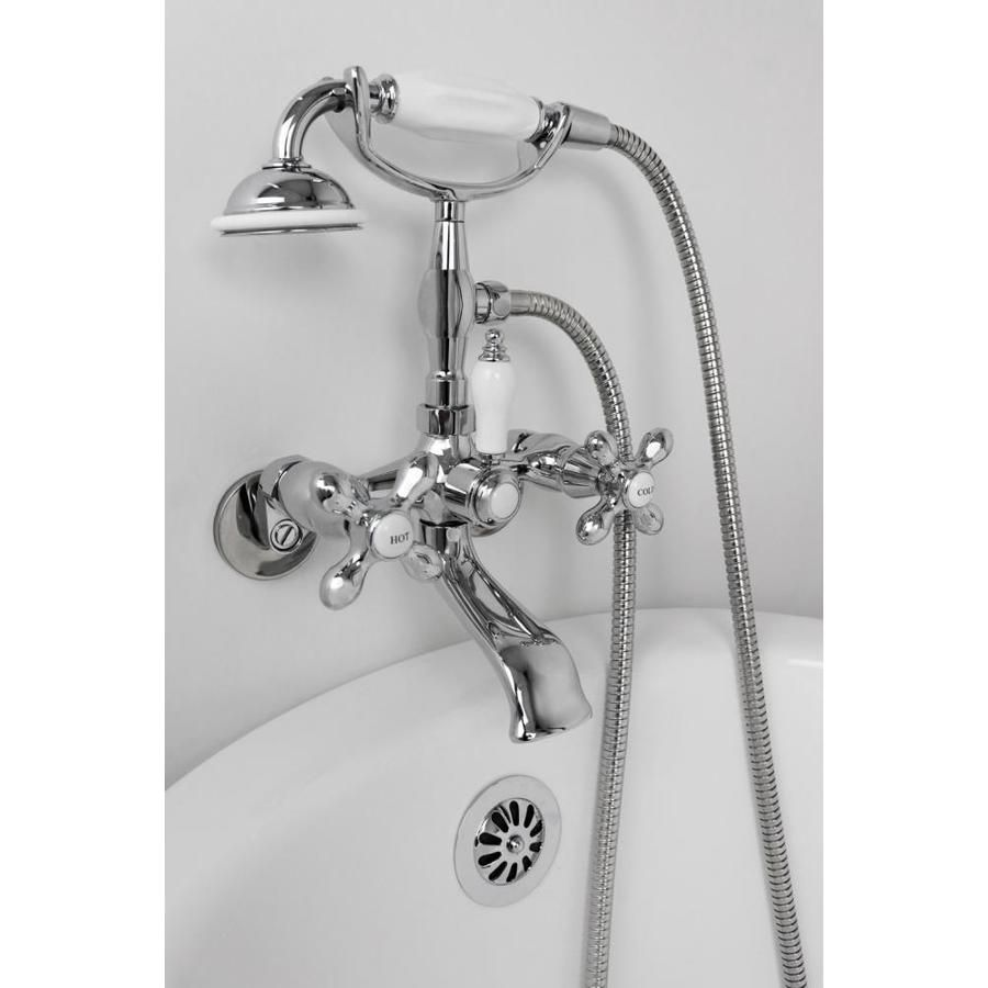 American Bath Factory F90 Series Chrome 2 Handle Commercial Wall