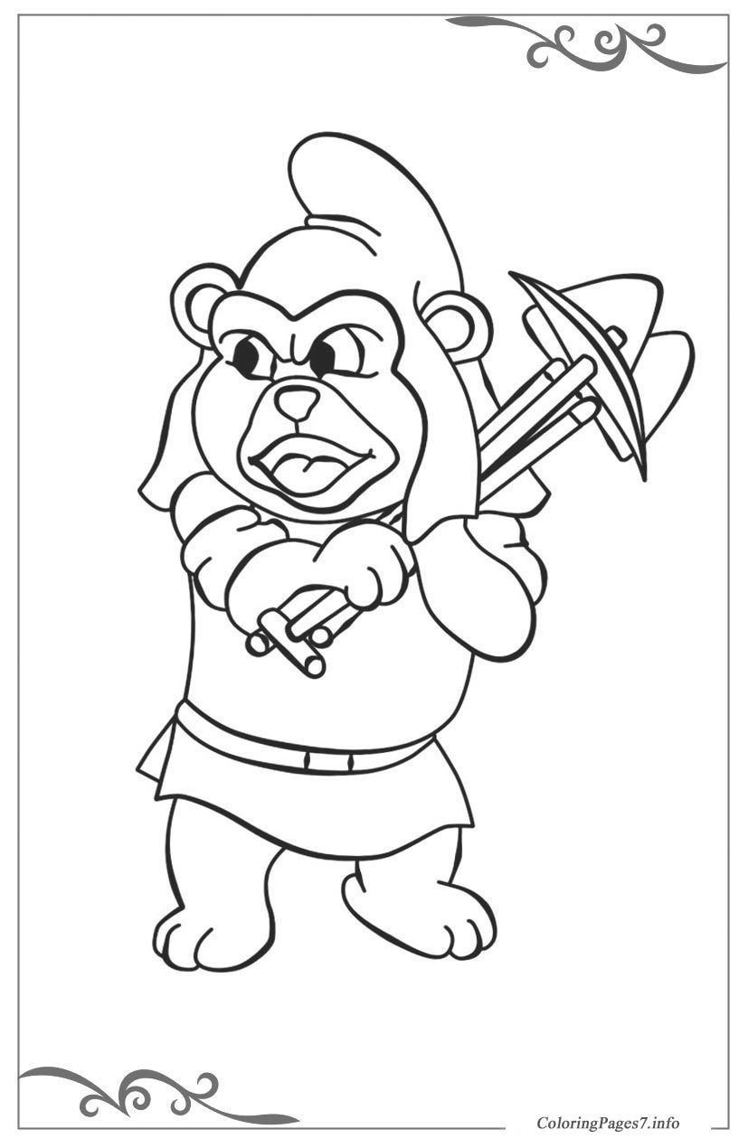 Adventures of the Gummi Bears Free coloring pages for girls ...