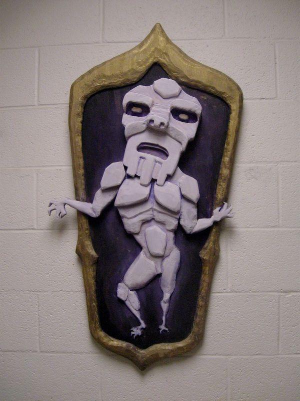 'Ghost Dancer' An original wooden wall sculpture made by artist Allison Anne Brown.