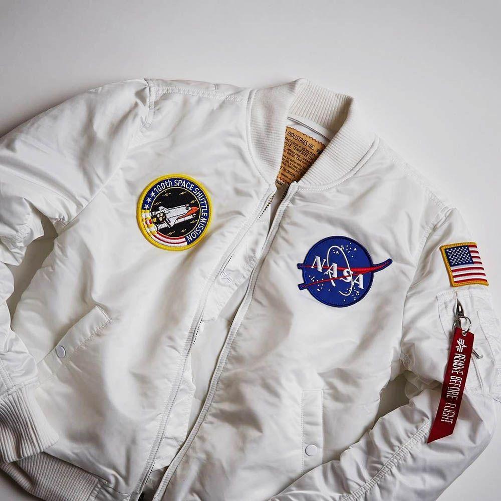a509f638b16 NASA Bomber Jacket