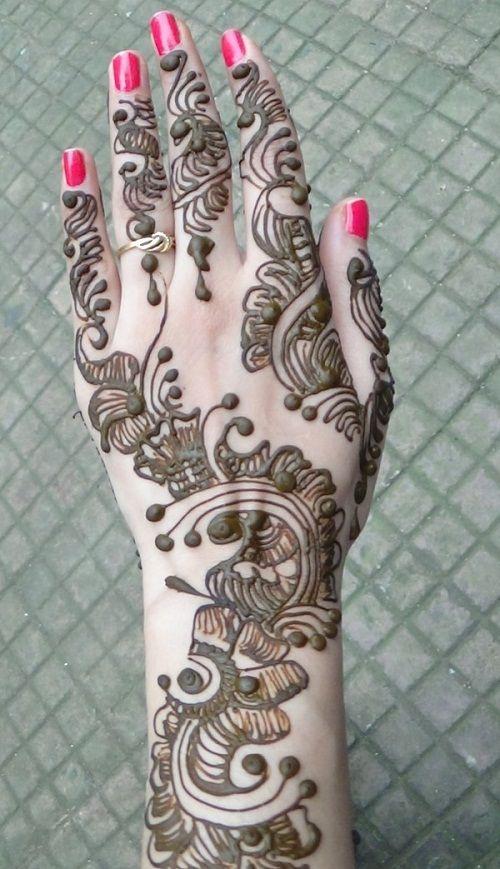 Full Hand Arabic Mehndi Design 2019 Latest Images