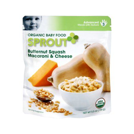 Sprout Advanced Butternut Squash Macaroni & Cheese Organic Baby Food, 5.5 OZ