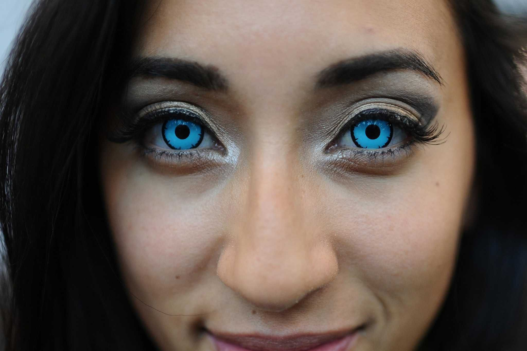Halloween contact lenses can up your costume but damage