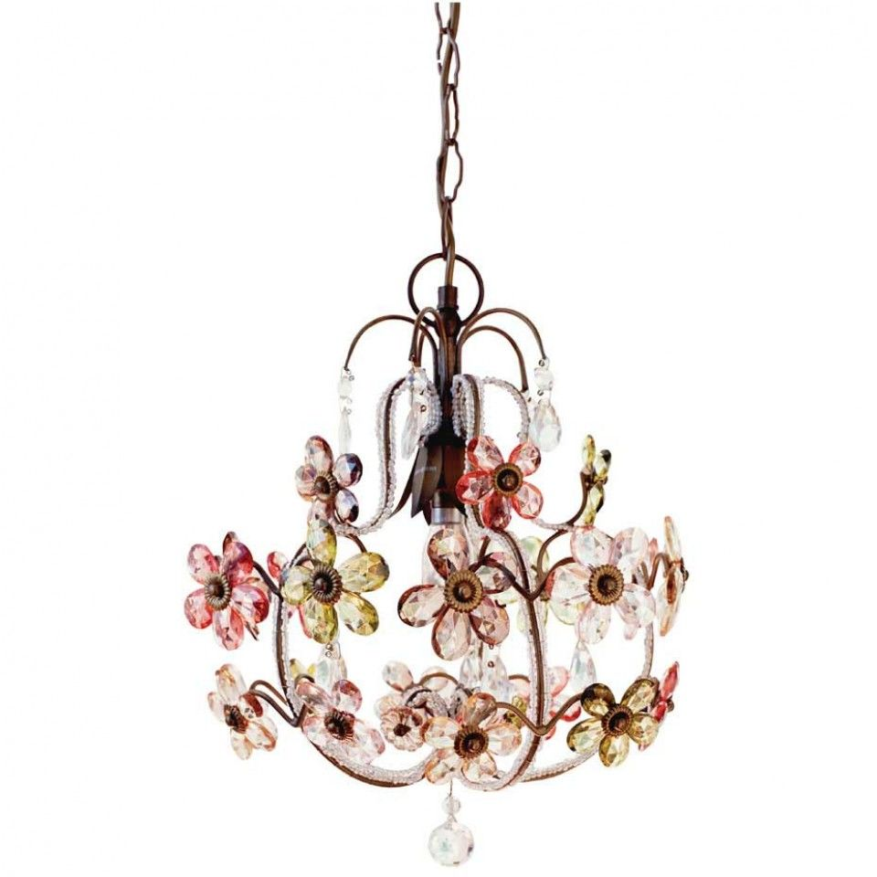 Vintage flower chandelier home sweet home pinterest flower