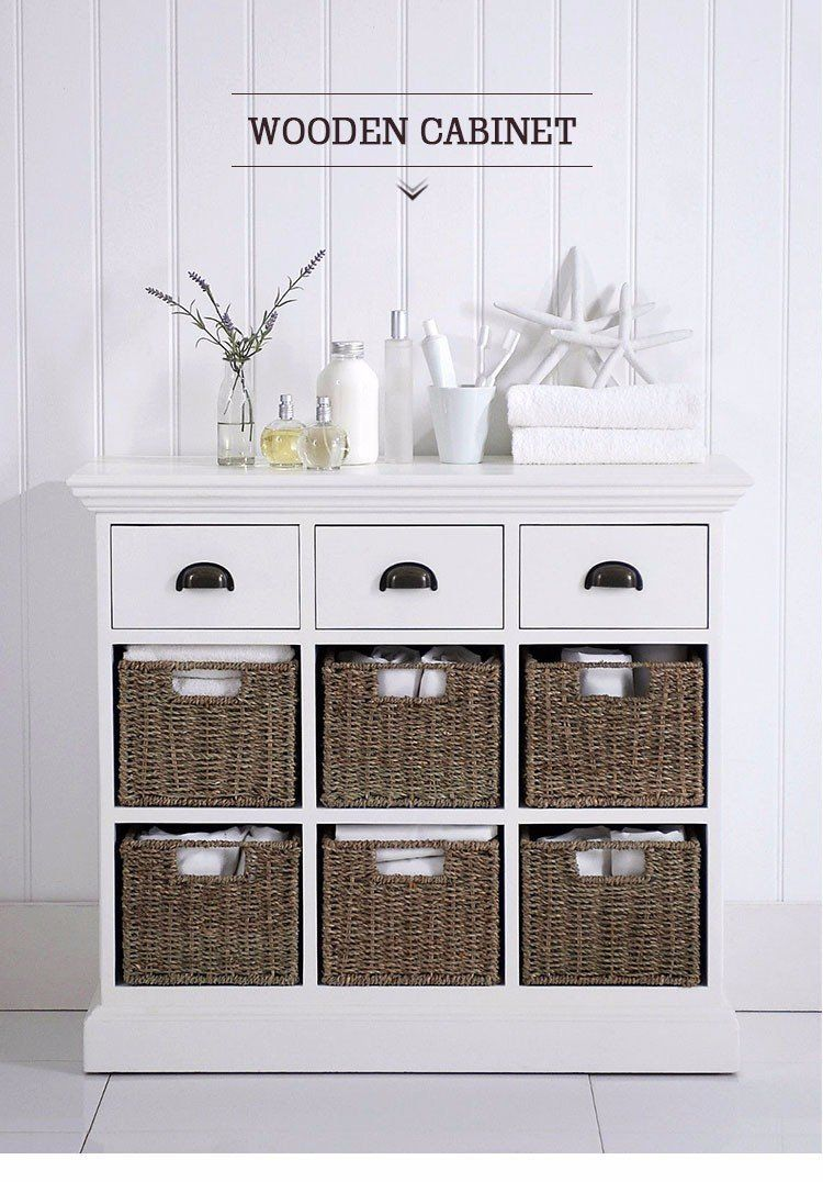 Small Corner Cabinets For Living Room Bathroom Modern Wicker Living Room Small Wooden C In 2020 Storage Cabinet With Baskets White Storage Cabinets Shabby Chic Kitchen #small #corner #cabinet #living #room