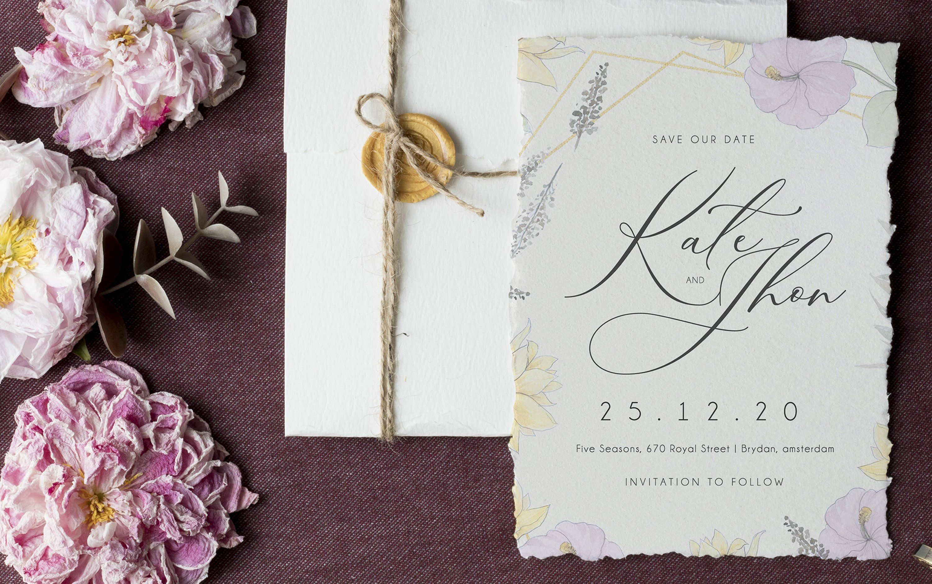 Vintage Garden Invitation Set Ad Quot Save Date Size Ad Garden Invitations Free Business Card Templates Wedding Templates