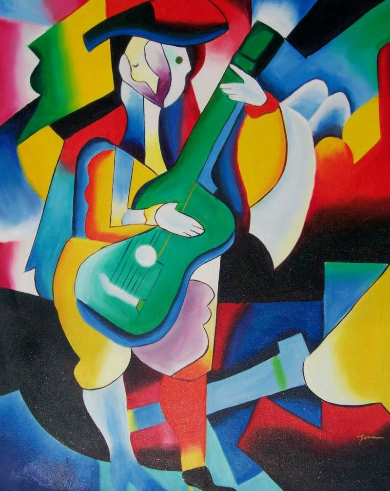 Famous Abstract Art Picasso
