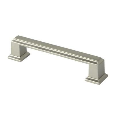 Roma 3 3 4 In 96 Mm Center To Center Zinc Alloy Brushed Nickel
