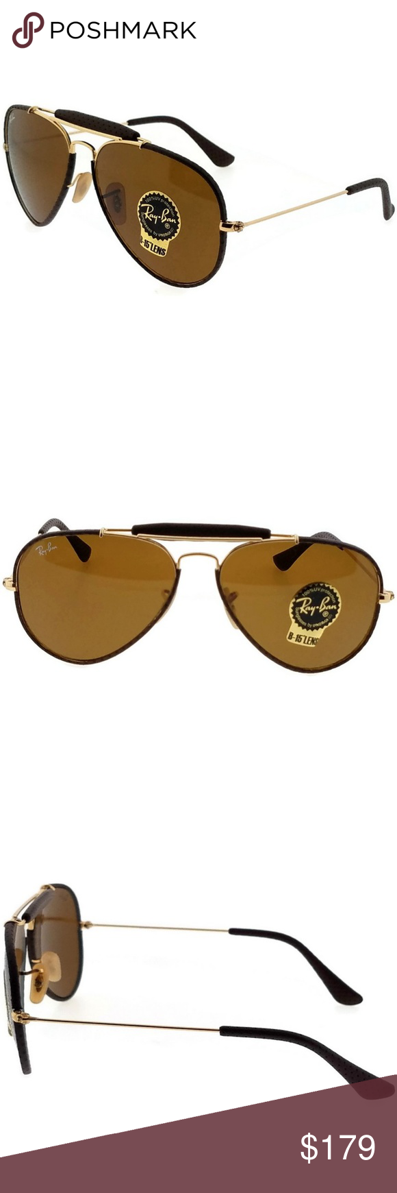 555883a75a RB3422Q-9041-58 RAY BAN SUNGLASSES New gorgeous authentic Ray-Ban RB3422Q-