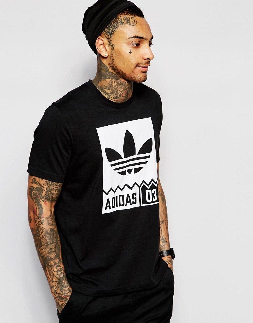 Super cool adidas Originals T Shirt With Street Graphic