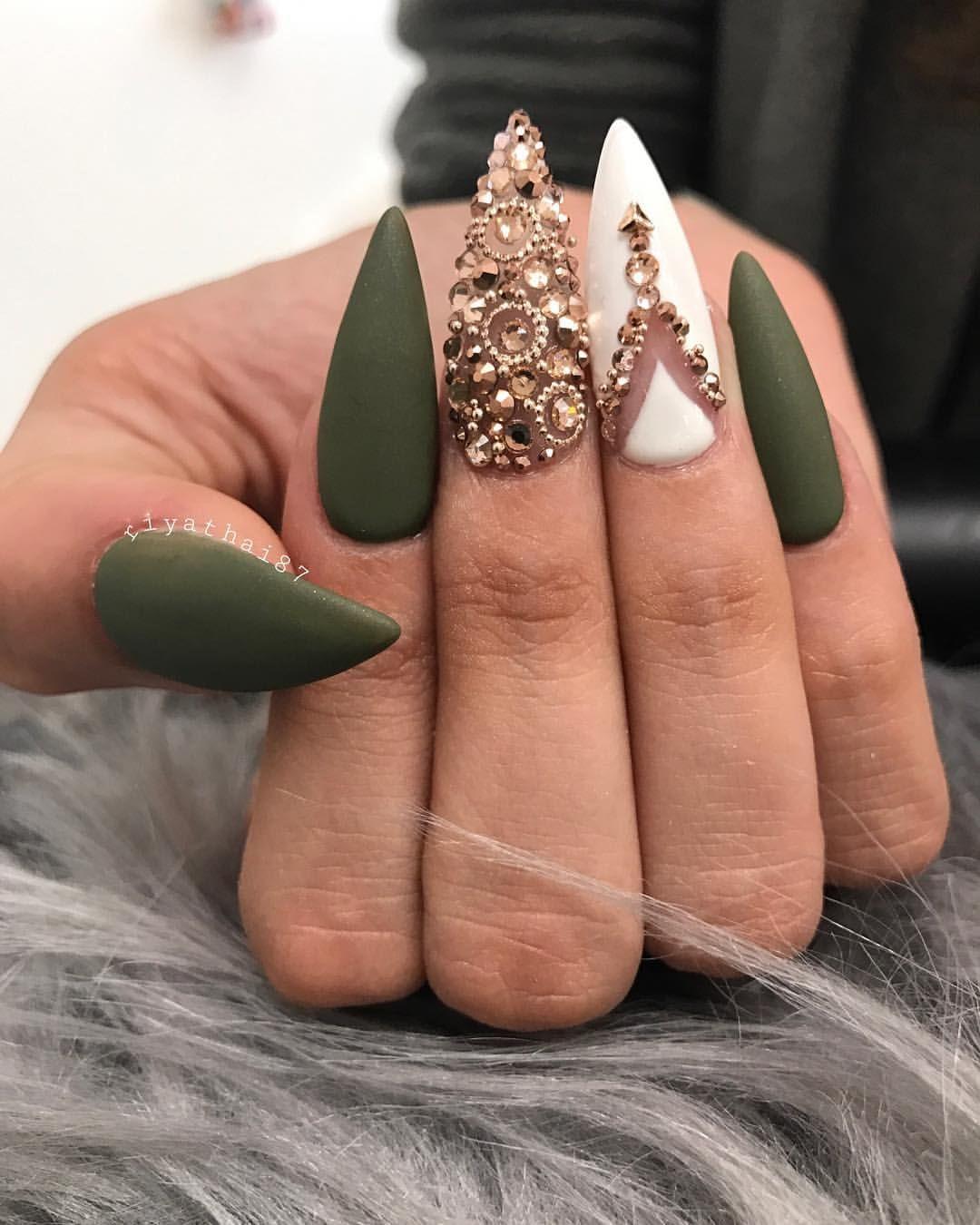 3,871 Likes, 8 Comments - Riya\'s Nails Salon (@riyathai87) on ...