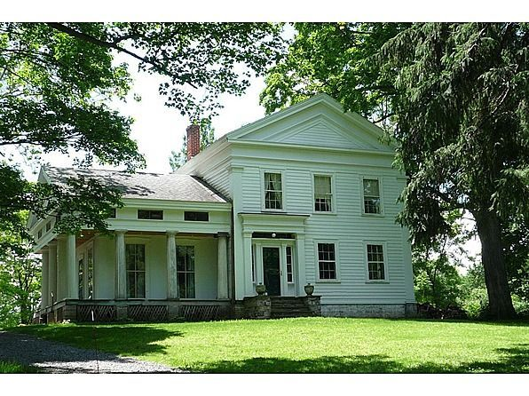 Greek Revival Farmhouse Home Pinterest Building And